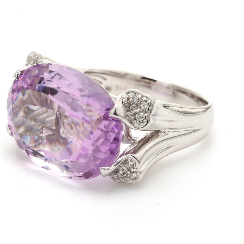 Color by Spicer Greene Amethyst Solitaire Ring