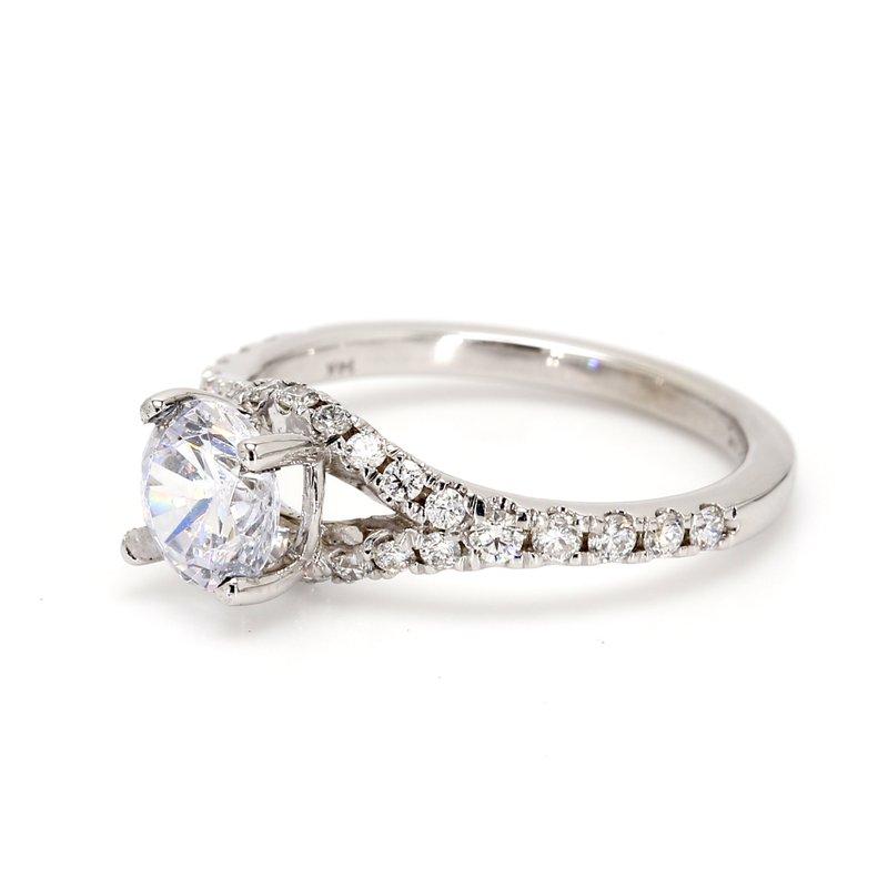 Spicer Greene Split Shank Engagement Ring