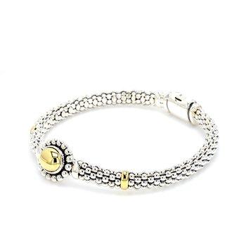 Silver & Gold Bracelet