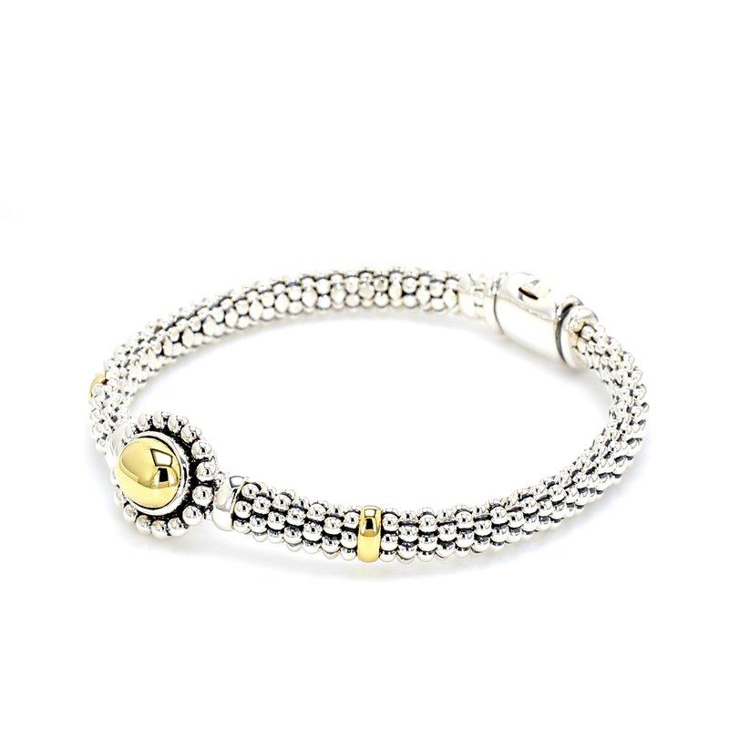 Lagos Silver & Gold Bracelet