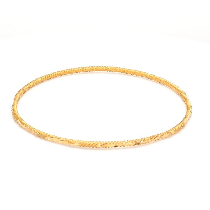 Estate Gold Bangle Bracelet
