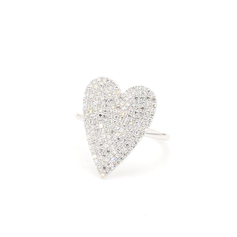 Spicer Greene Diamond Heart Ring