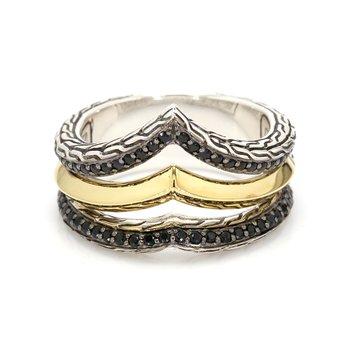 Multi-Row Gemstone Ring