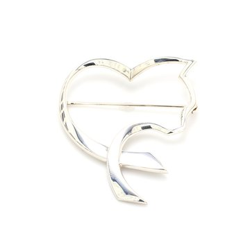 Tiffany & Co Cat Heart Pin