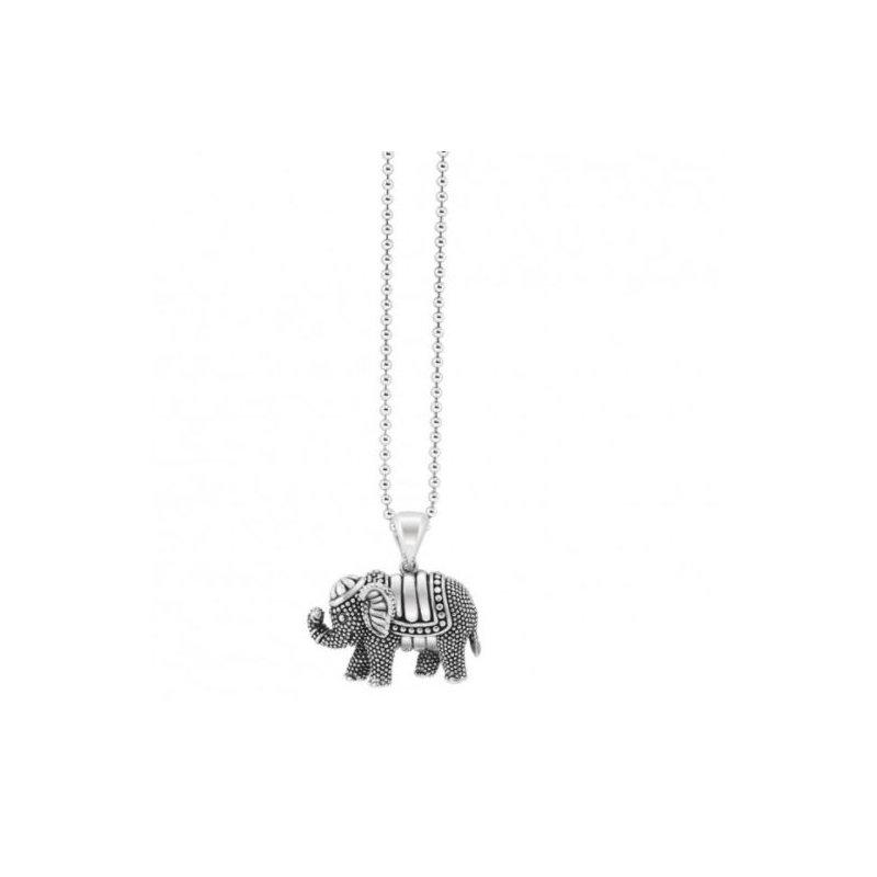 Lagos Silver Elephant Pendant