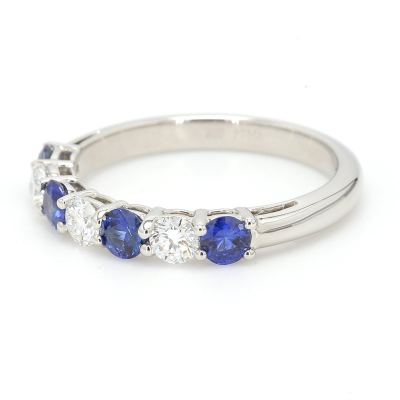 Color by Spicer Greene Sapphire Band