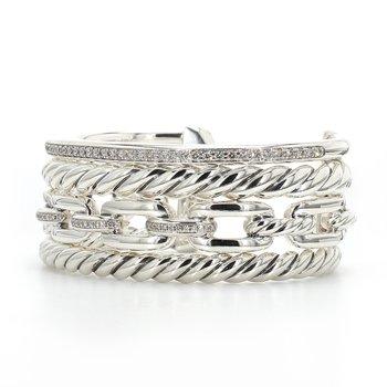 Diamond Multi-Row Bracelet