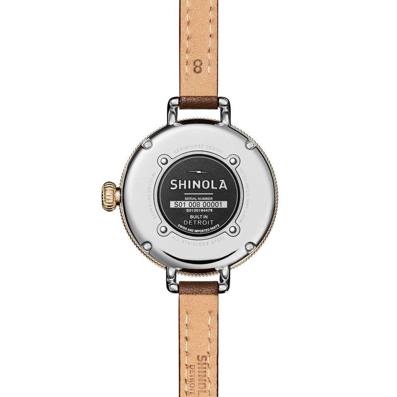 Shinola-Detroit Quartz Birdy Mother Of Pearl 34mm