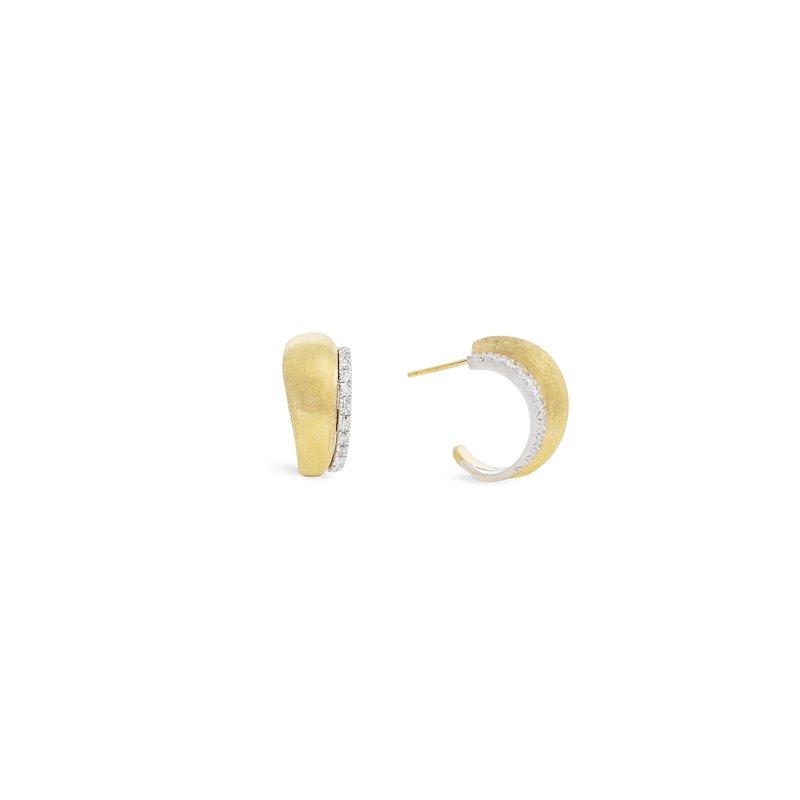 Marco Bicego Lucia Diamond Hoop Earrings