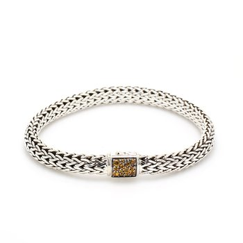 Citrine Chain Bracelet