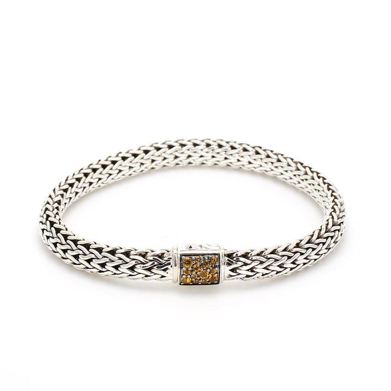 John Hardy Citrine Chain Bracelet