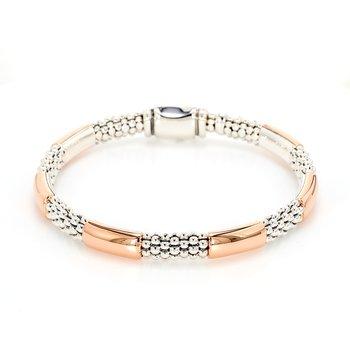 Rose Gold Caviar Bracelet