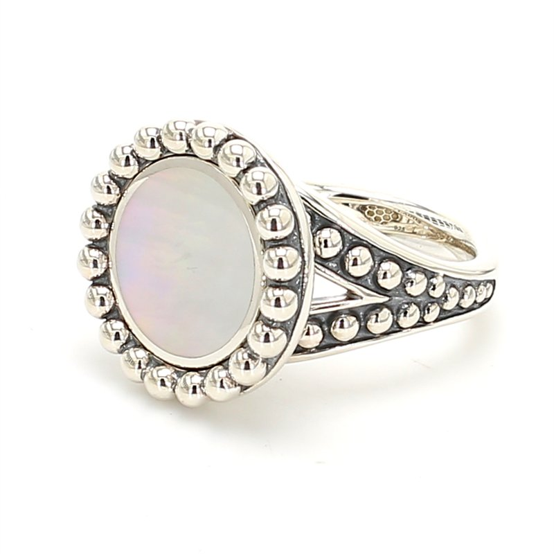 Lagos Mother of Pearl Ring