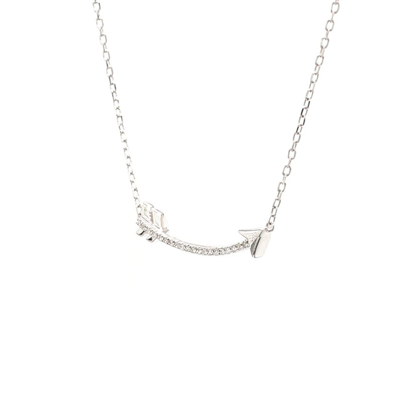 Spicer Greene Diamond Arrow Pendant