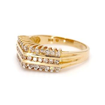 Diamond Free Form Ring