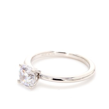 14 Karat Gold Engagement Ring Mounting