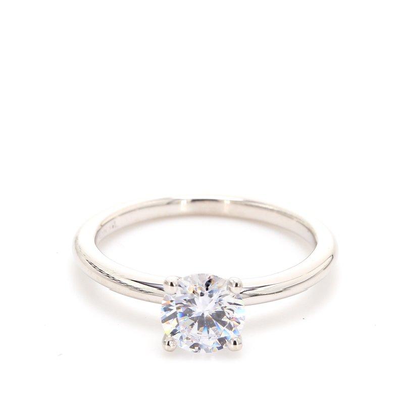 Spicer Greene 14 Karat Gold Engagement Ring Mounting