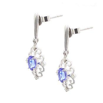 Tanzanite Dangle Earrings