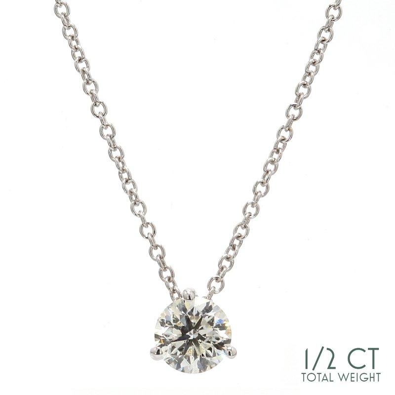 Everyday Diamonds Diamond Solitaire Pendant
