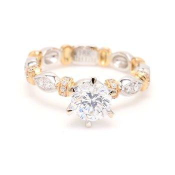 Semi Mount Engagement Ring