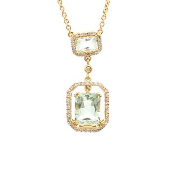 Prasiolite Fashion Pendant