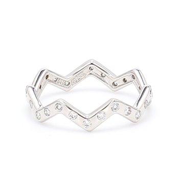 Zig Zag Stackable Ring