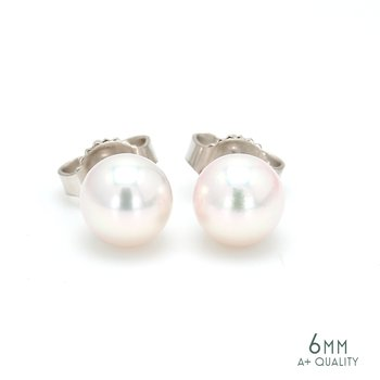 Akoya Cultured Pearl Stud Earrings