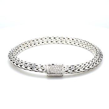 Silver Tiga Bracelet