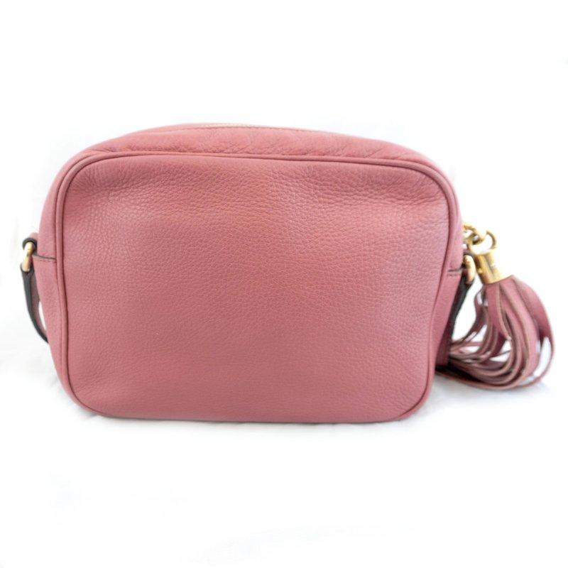 Pre-Owned Luxury Handbags Gucci Soho Disco Crossbody