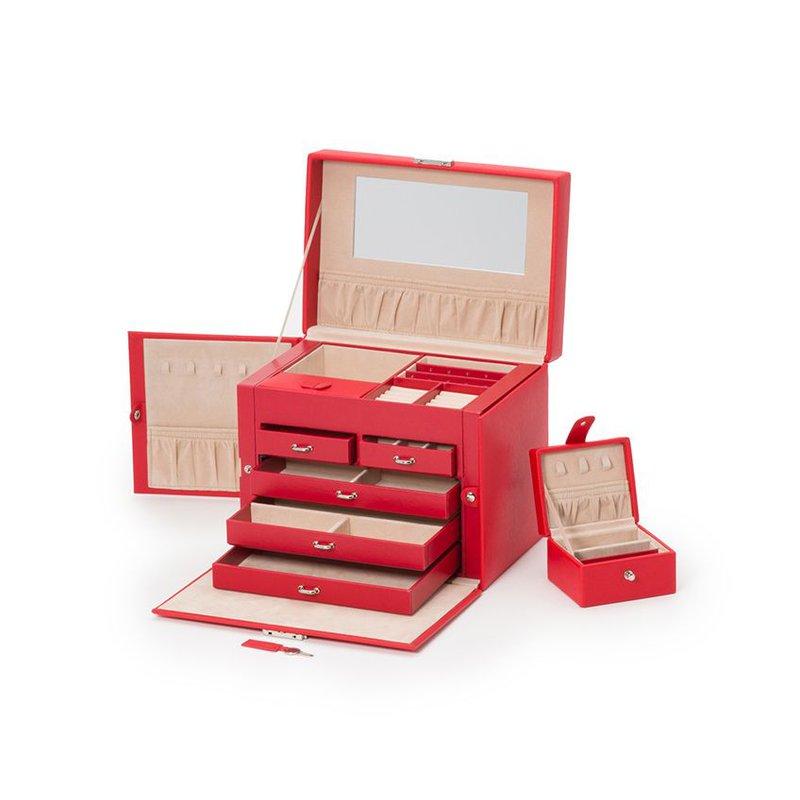 Wolf Heritage Medium Jewelry Box