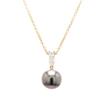Black South Sea Pearl Pendant
