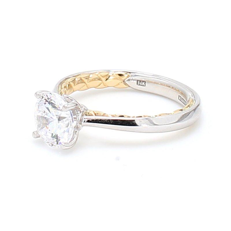 A.Jaffe 14 Karat Gold Engagement Ring Mounting