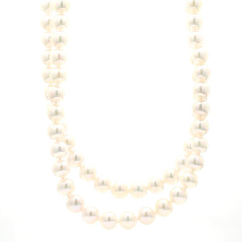 Mikimoto Akoya Cultured 17.5in Pearl Double Strand