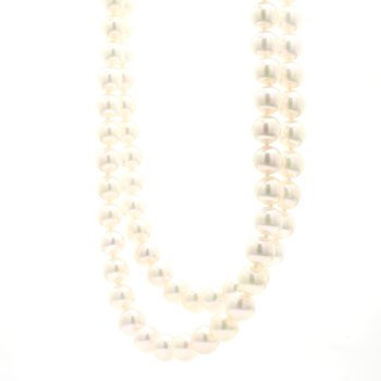 Akoya Cultured 17.5in Pearl Double Strand