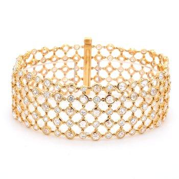 Diamond Mesh Bracelet