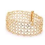 Spicer Greene Diamond Mesh Bracelet