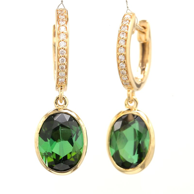 Color by Spicer Greene Tourmaline Dangle Earrings
