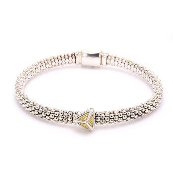 Silver & Gold KSL Bracelet