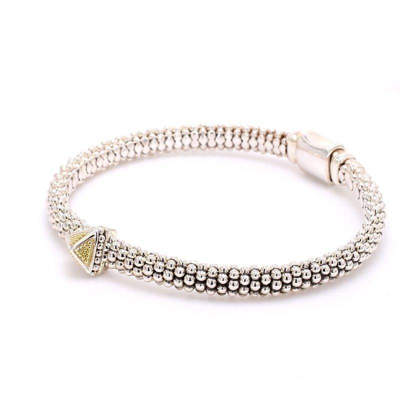 Lagos Silver & Gold KSL Bracelet