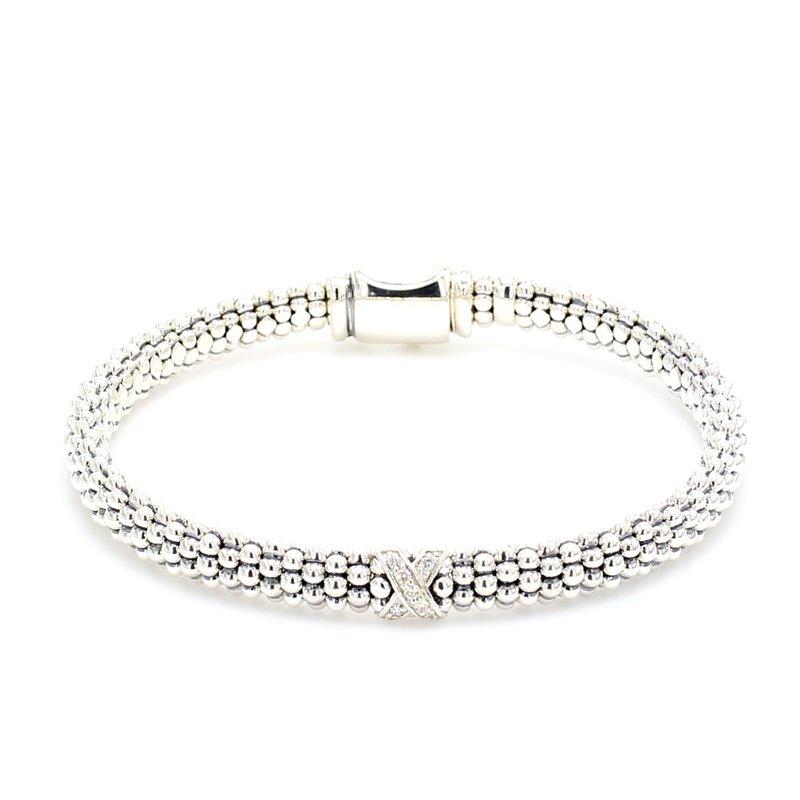 Lagos Diamond X Bracelet