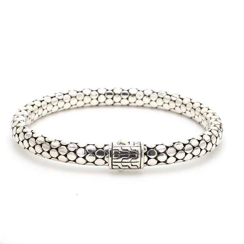 Dot Silver Small Chain