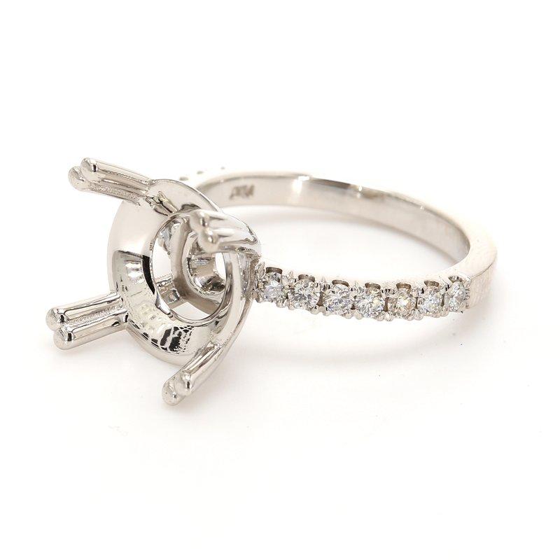 Classique Solitaire Semi Mount Engagement Ring
