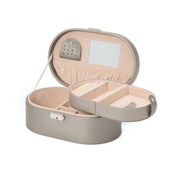 Heritage Oval Jewelry Box