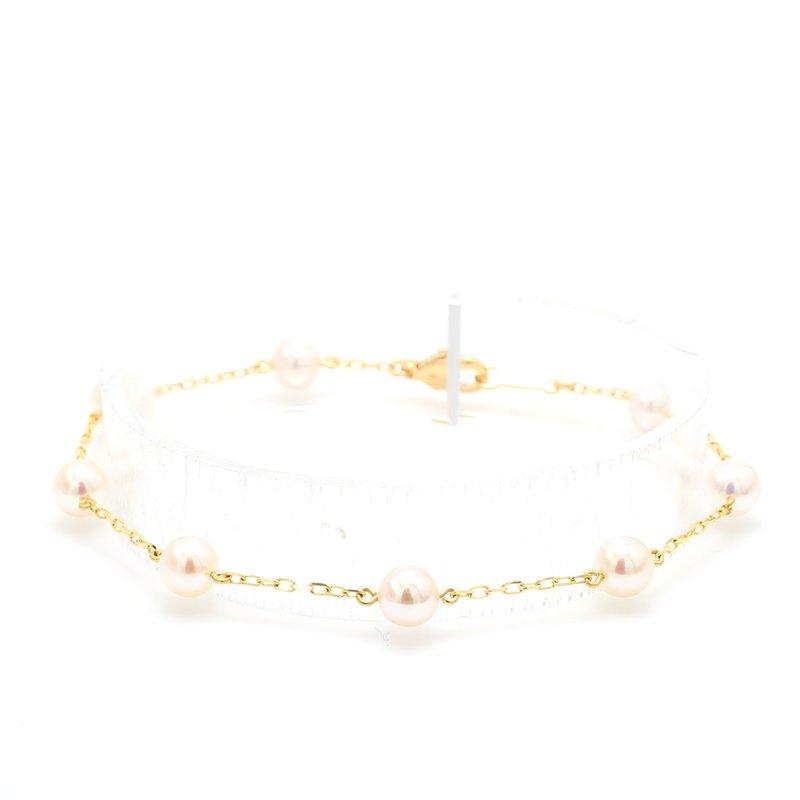 Mikimoto Akoya Cultured Pearl Bracelet