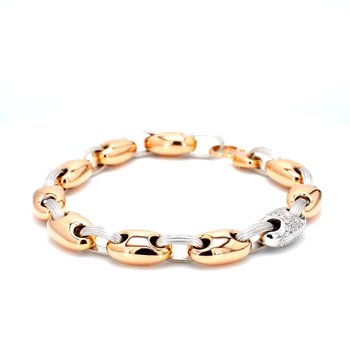 Diamond Mariner Bracelet