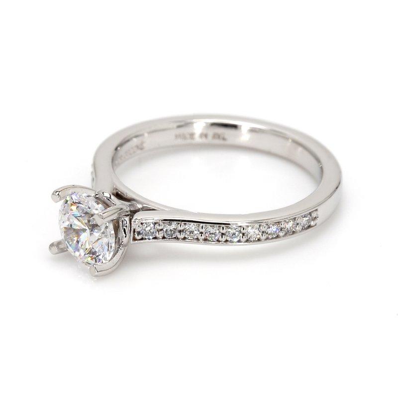 Classique Semi Mount with Diamonds