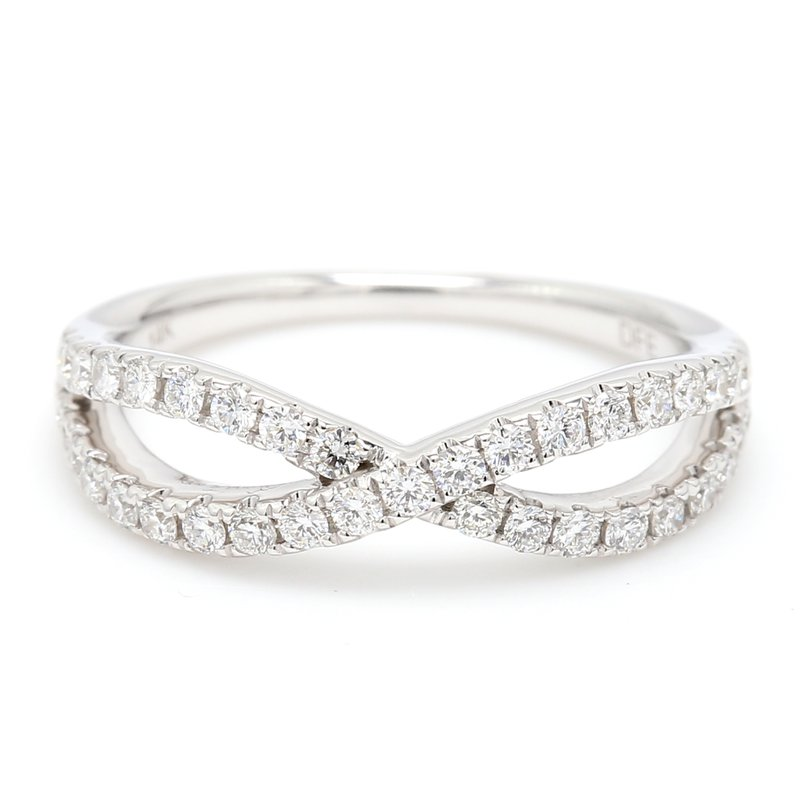 Spicer Greene Twist Diamond Wedding Band