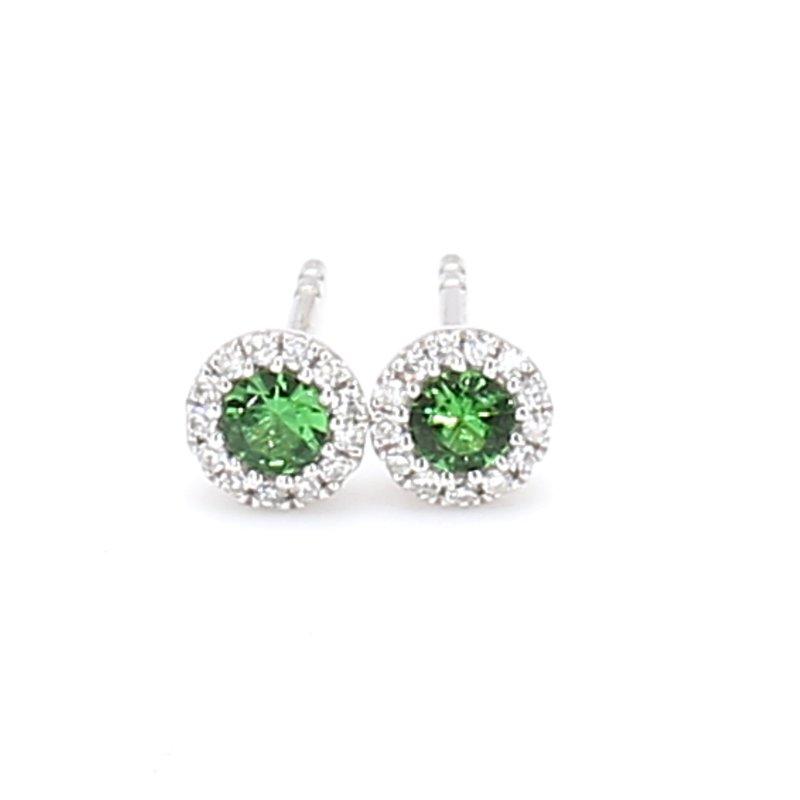 Color by Spicer Greene Garnet Stud Earrings