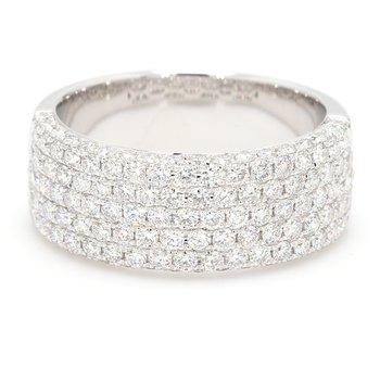 Multi-Row Diamond Ring