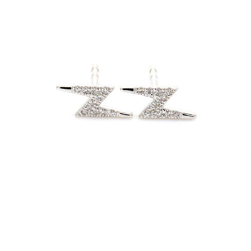 Spicer Greene Lightening Bolt Diamond Studs